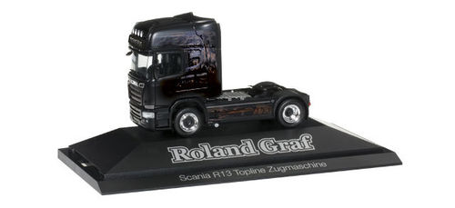 "Scania R 2013 TL Solo-Zugmaschine ""Roland Graf / Black Magic"""